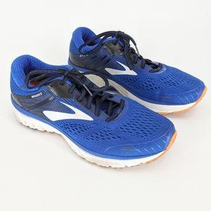 Brooks Adrenaline GTS 18 Blue Orange Running Shoes